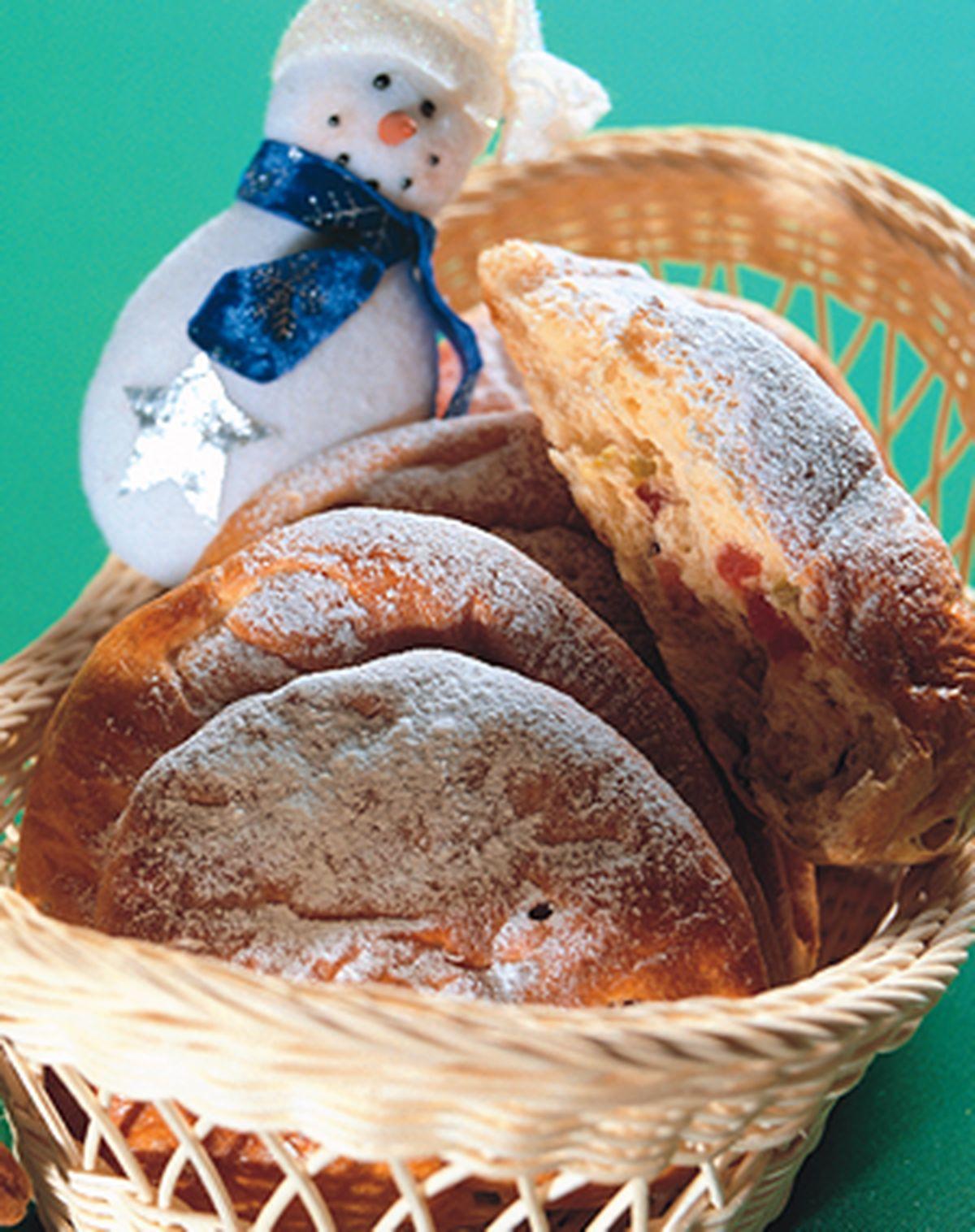 食譜:聖誕水果麵包