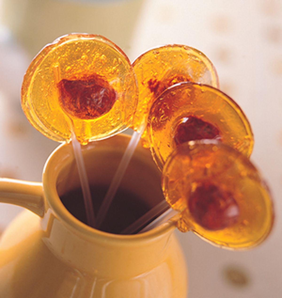 食譜:梅子棒棒糖