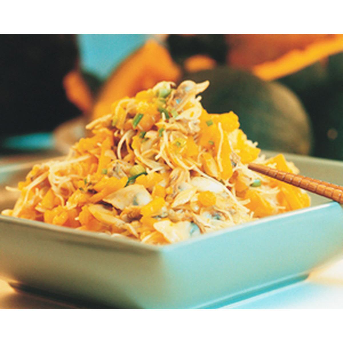 食譜:海貝南瓜米粉