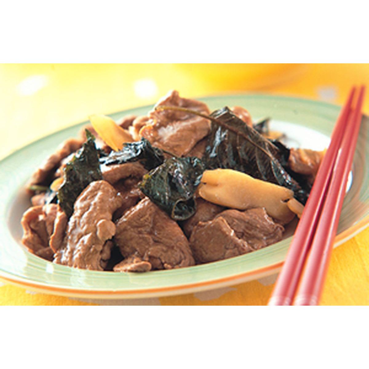 食譜:紫蘇鴨肉