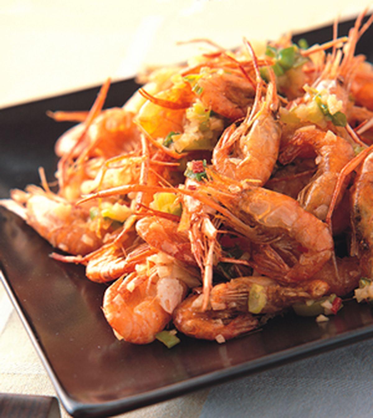 食譜:香酥溪蝦