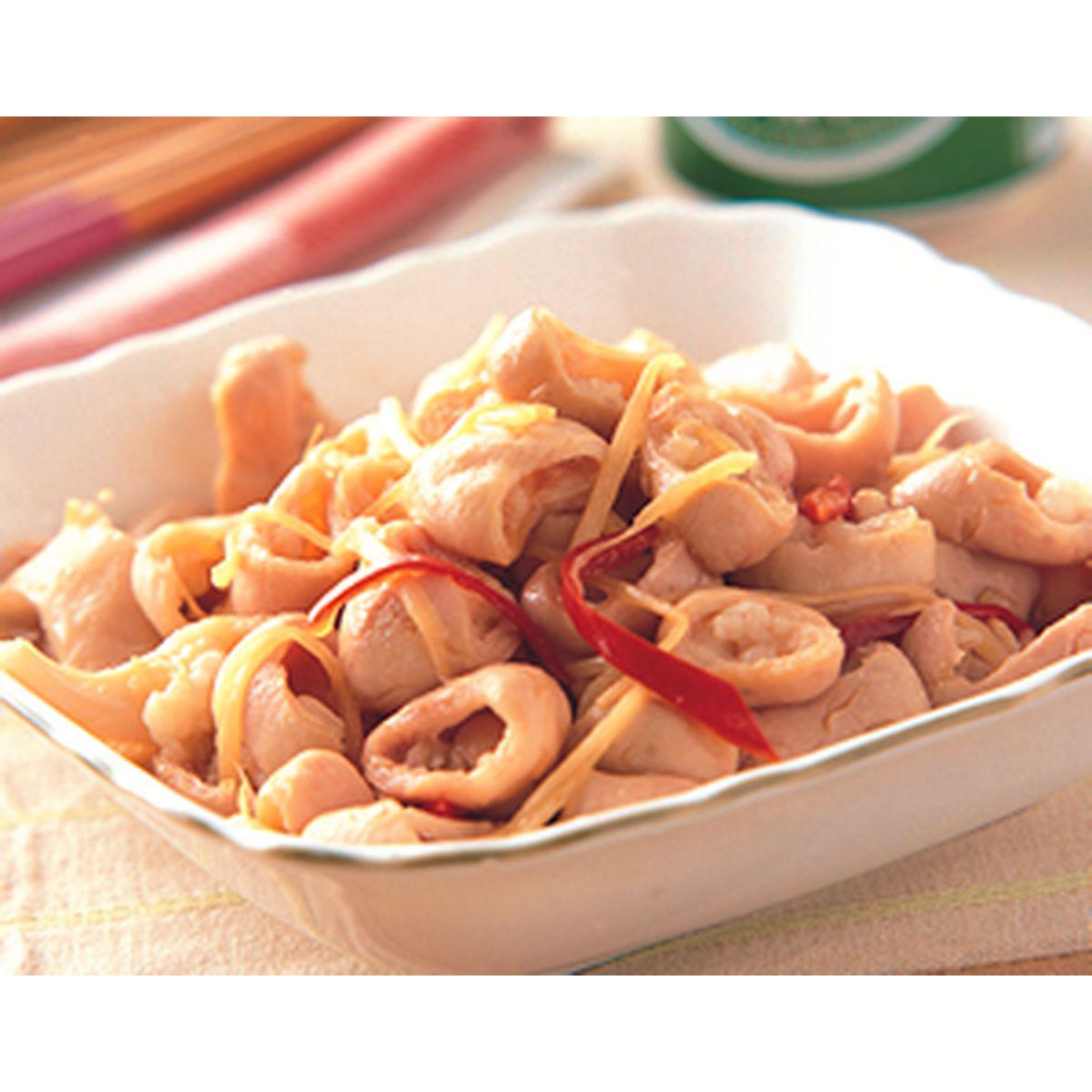 食譜:薑絲炒大腸