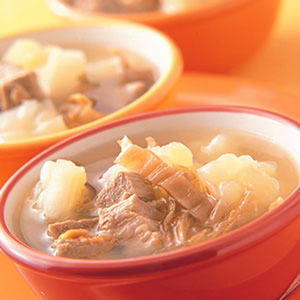 苦瓜福菜排骨湯