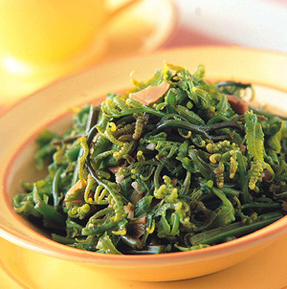 食譜:福菜炒水蕨