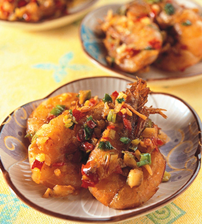 食譜:鹽酥蝦