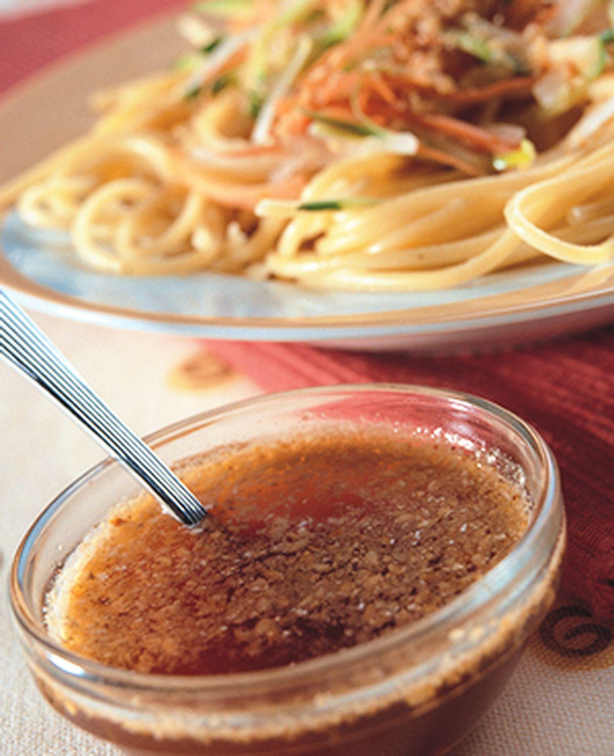 食譜:蔬菜麻醬義大利涼麵