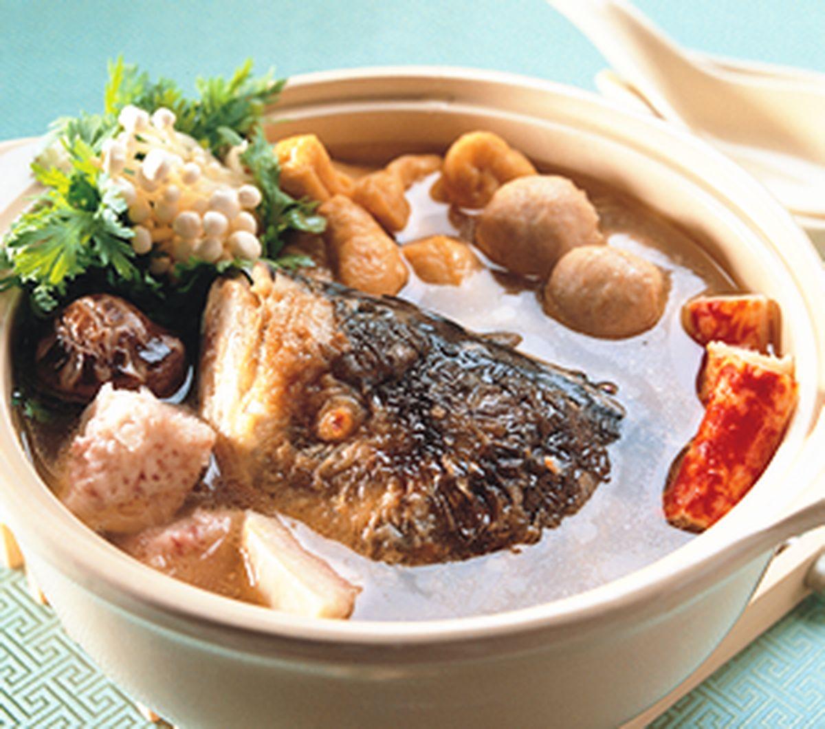 食譜:砂鍋魚頭火鍋(2)