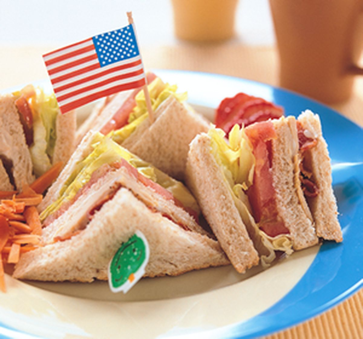食譜:總匯三明治(2)