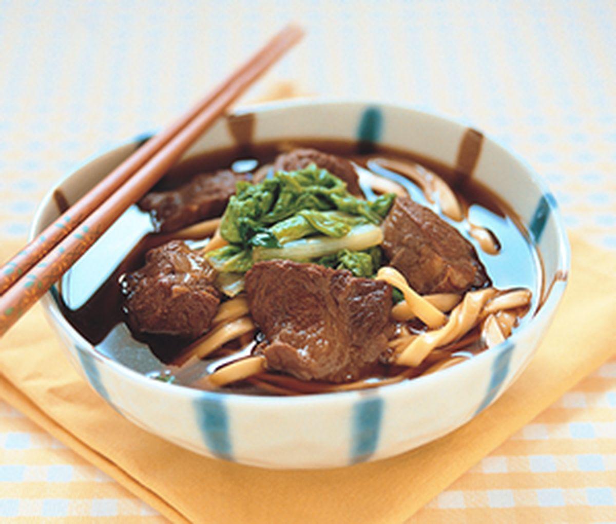食譜:紅燒牛肉麵