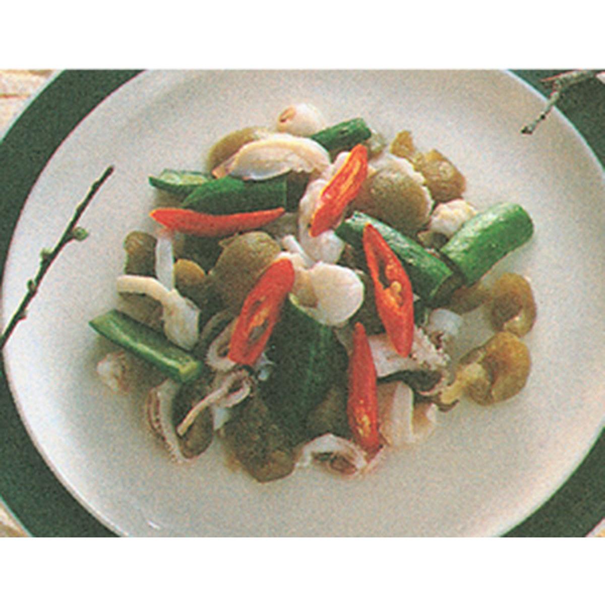食譜:脆梅拌花枝