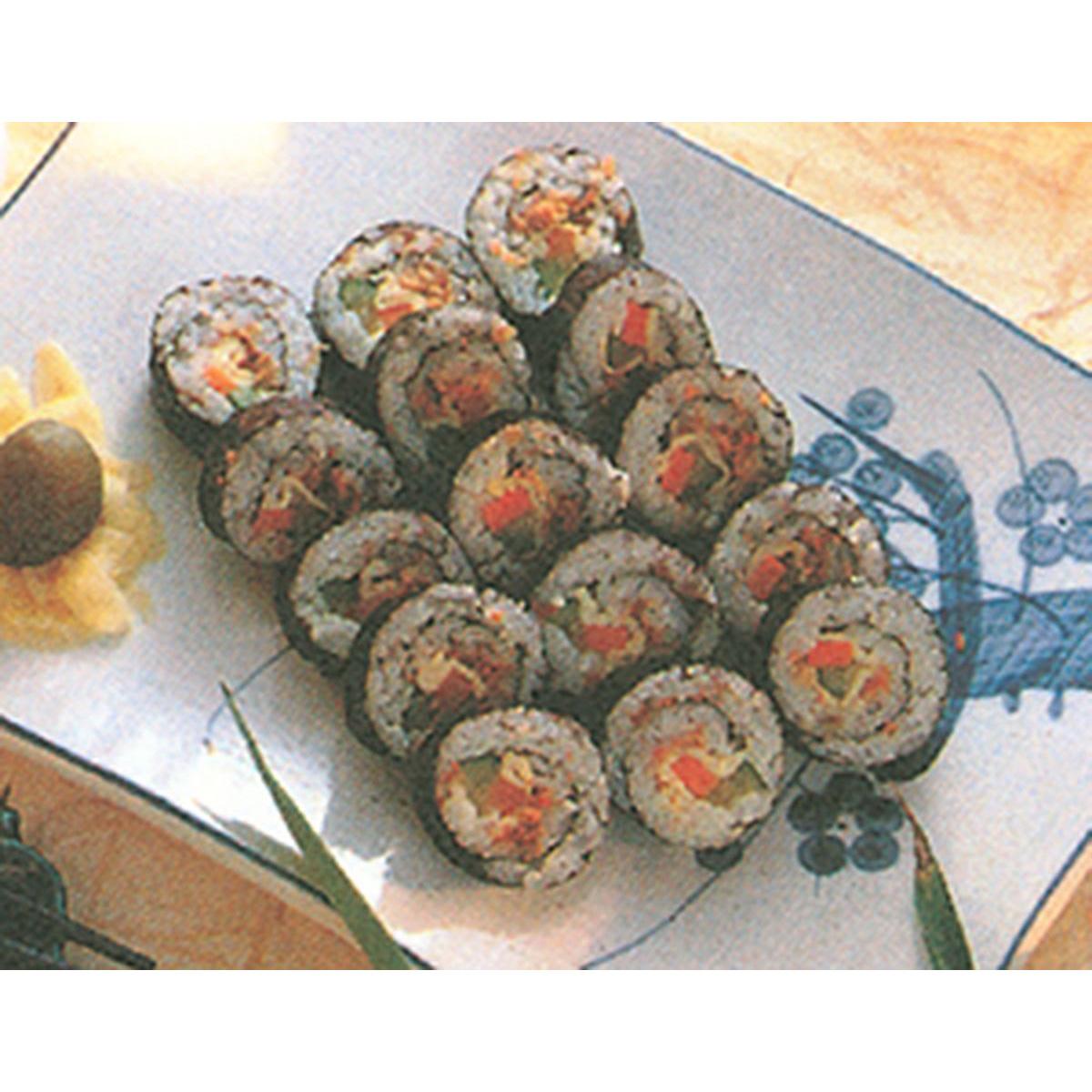 食譜:梅味壽司