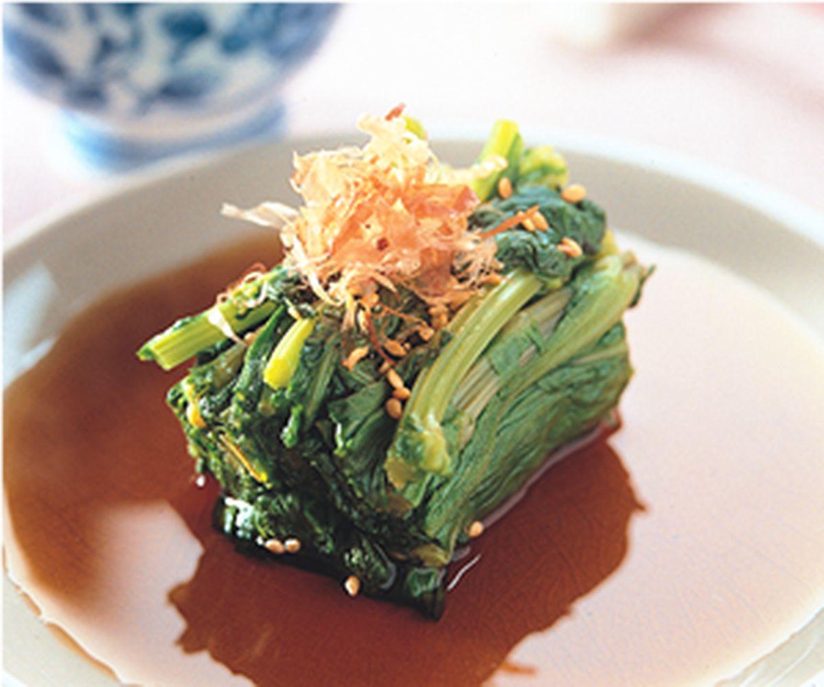 食譜:涼拌春菊