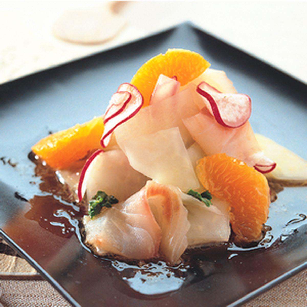 食譜:鯛魚野菜沙拉