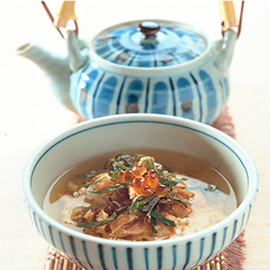 鮭魚茶漬泡飯