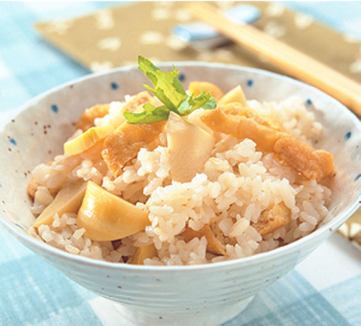 食譜:筍香豆皮飯