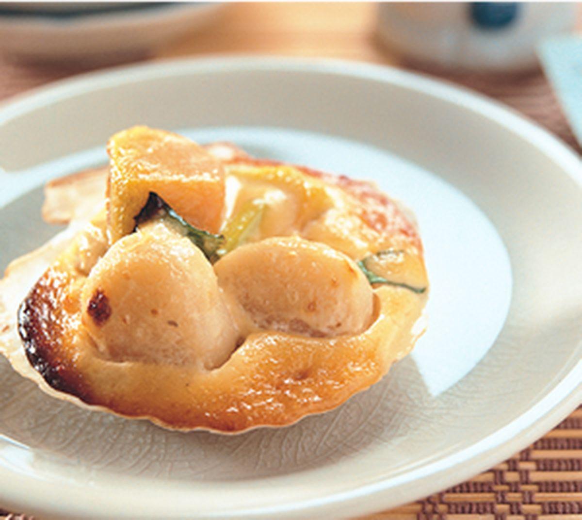 食譜:帆立貝味噌美乃滋燒