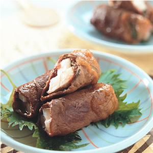 山藥紫蘇牛肉卷