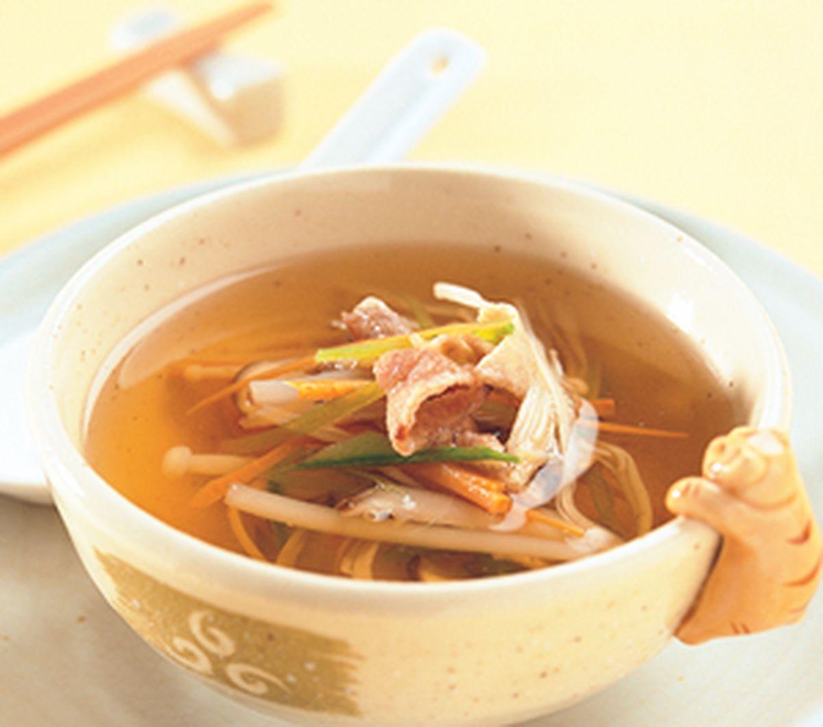 食譜:蔬菜清湯