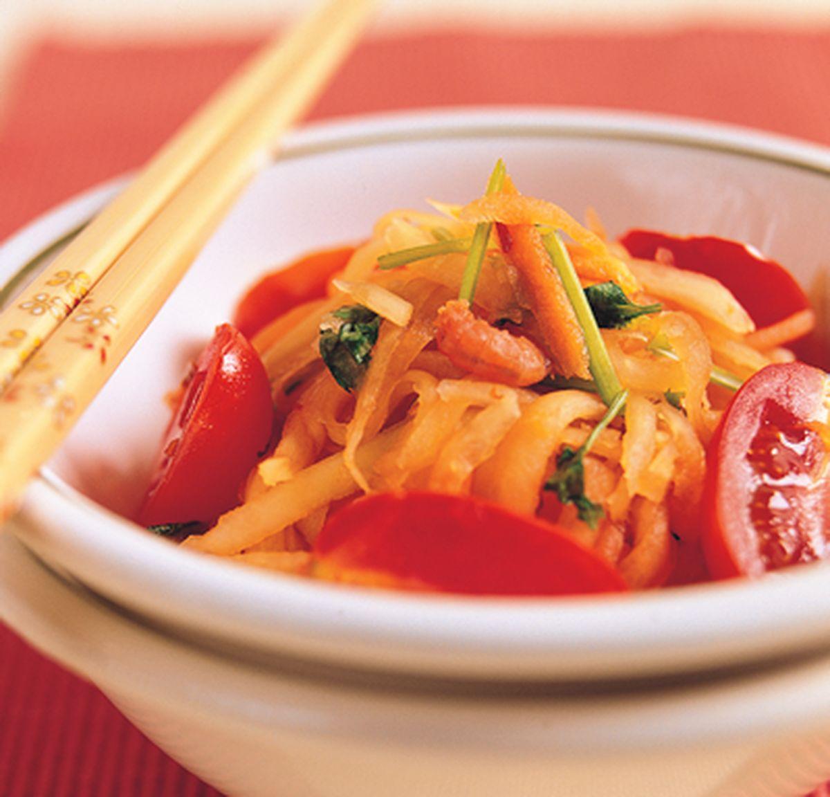 食譜:泰式涼拌青木瓜絲