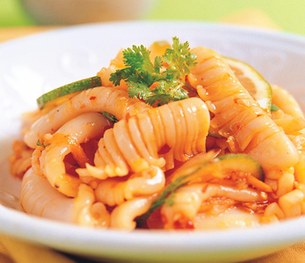 食譜:泰式涼拌花枝(2)