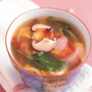 味噌蔬菜湯