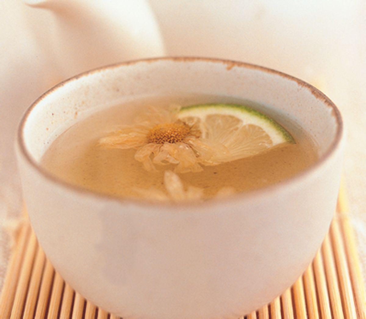 食譜:檸檬菊花茶