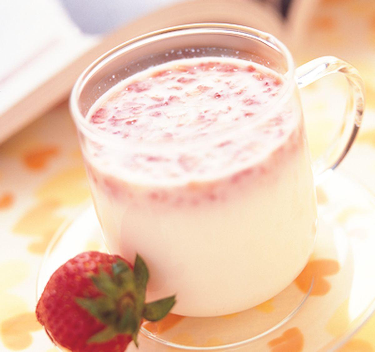 食譜:草莓優酪乳