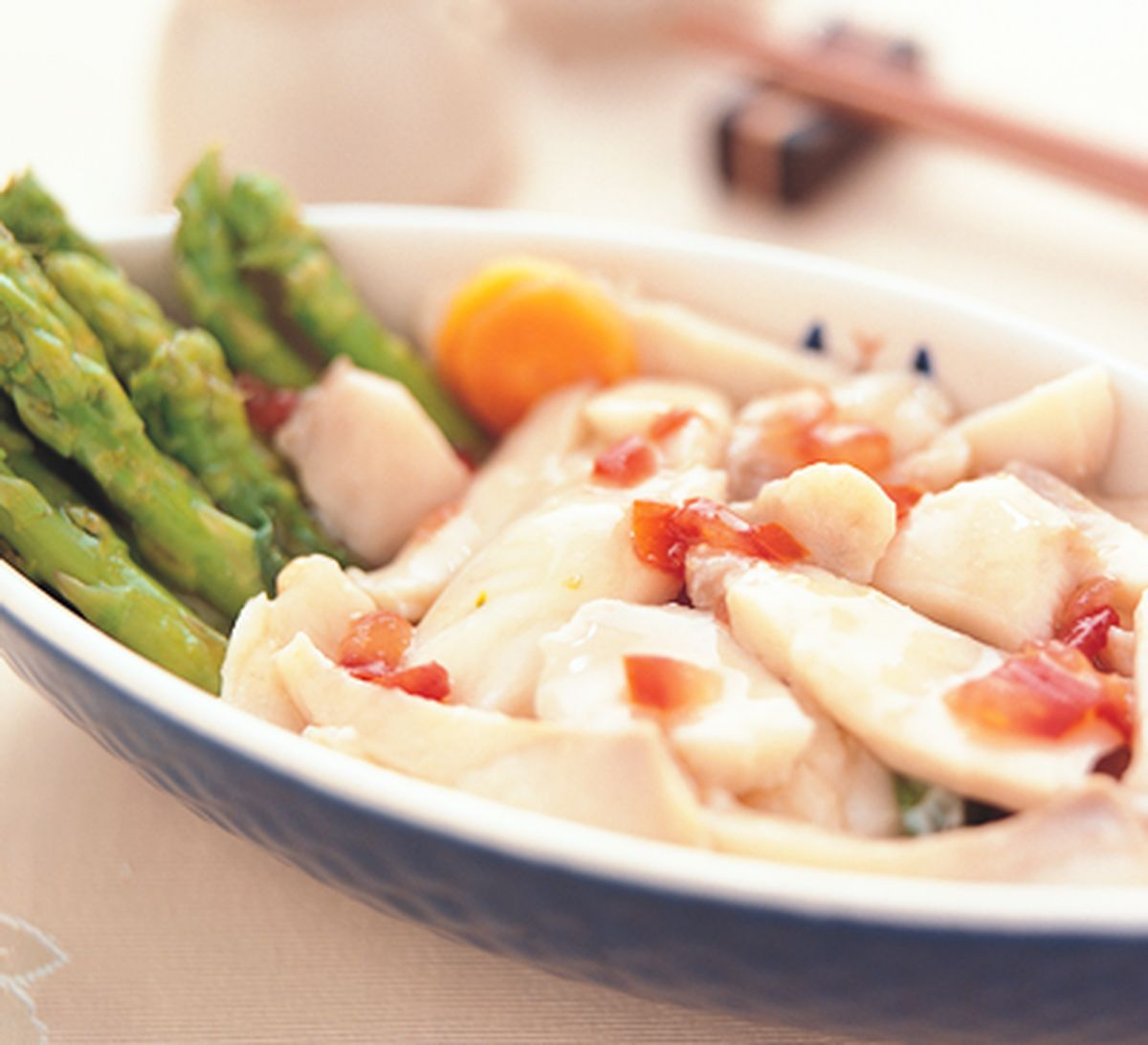 食譜:甜酸鯛魚沙拉