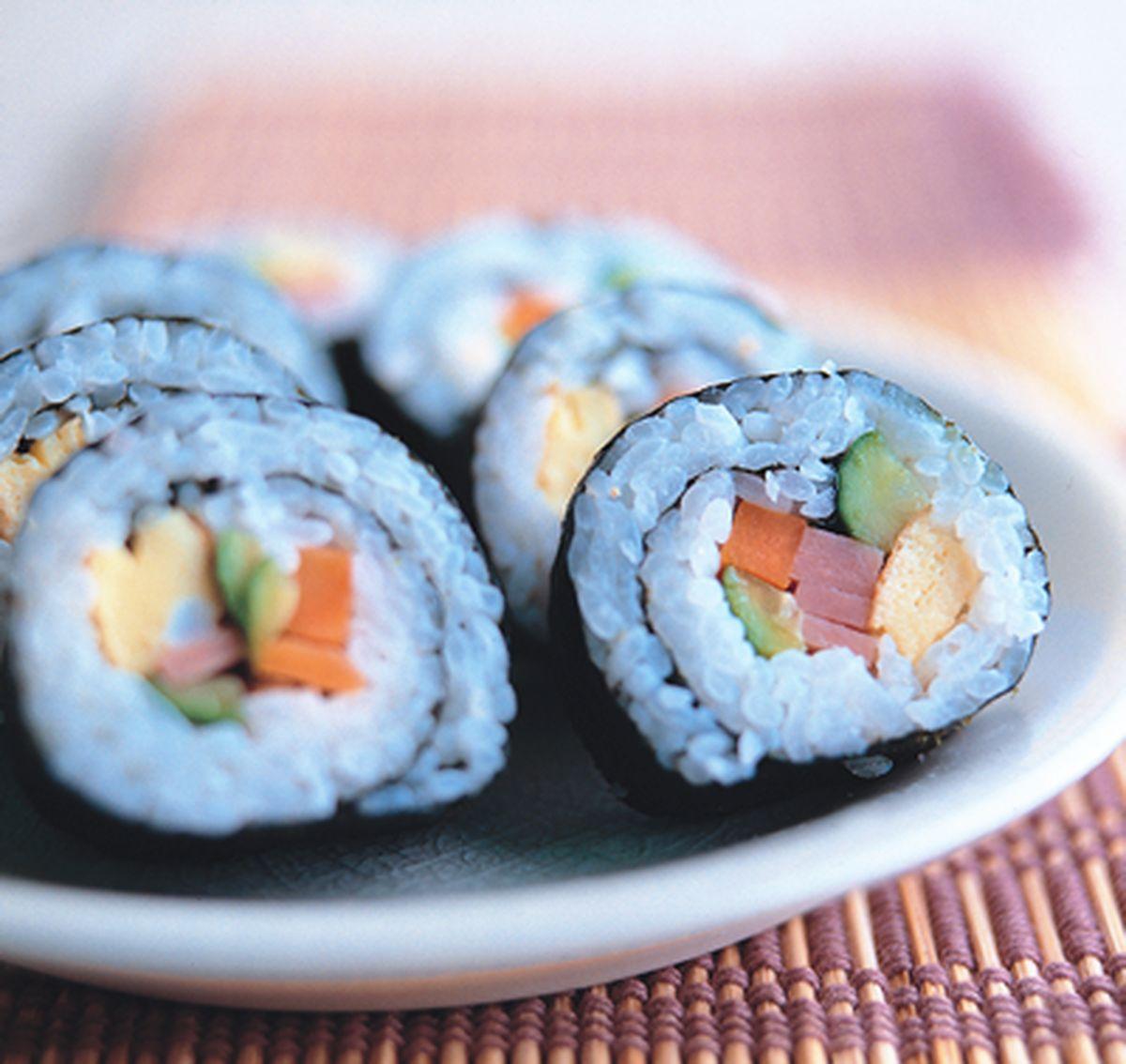 食譜:卷壽司