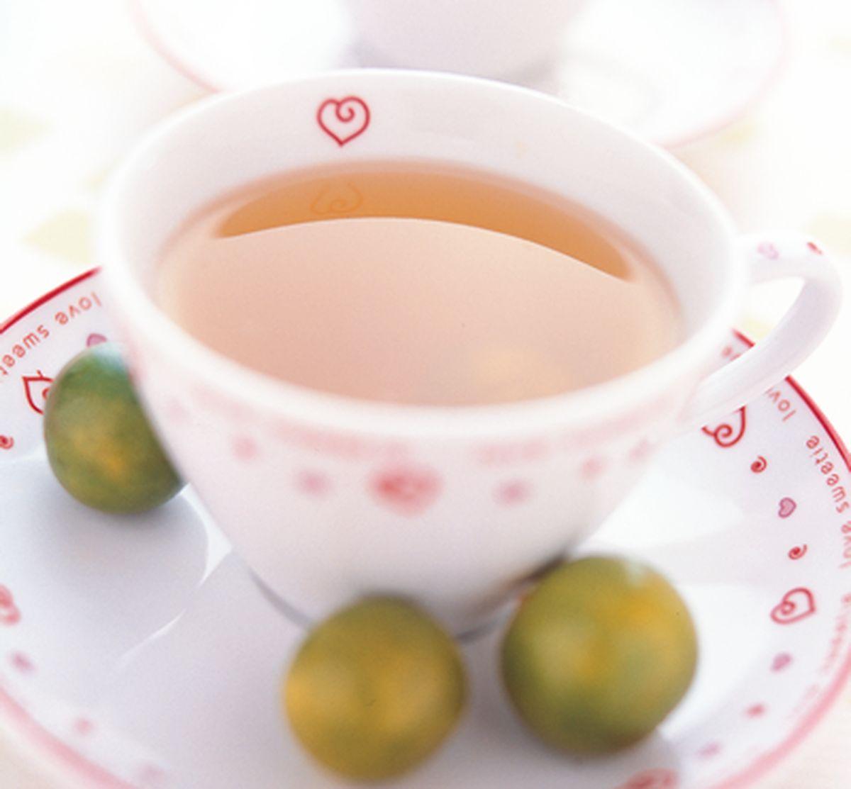 食譜:金桔綠茶