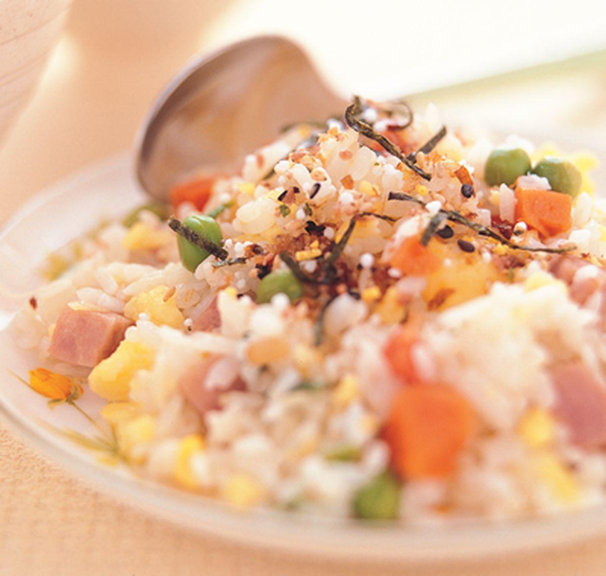 食譜:五色蛋炒飯