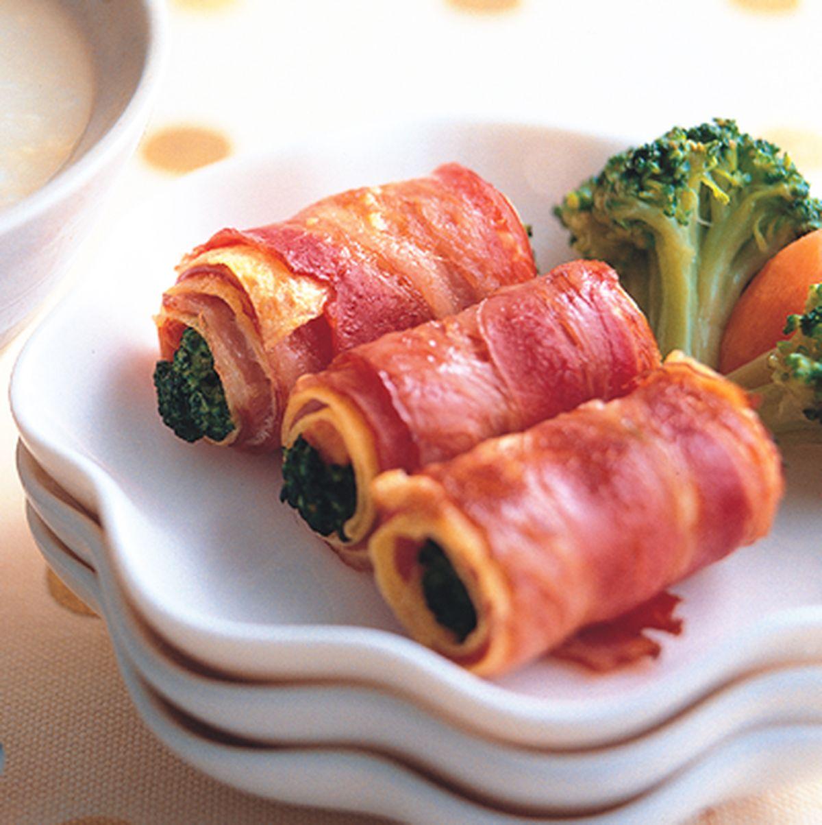 食譜:培根蔬菜蛋卷