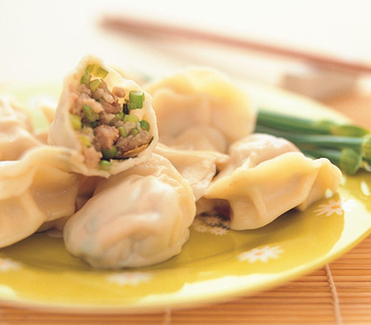 食譜:韭菜花水餃