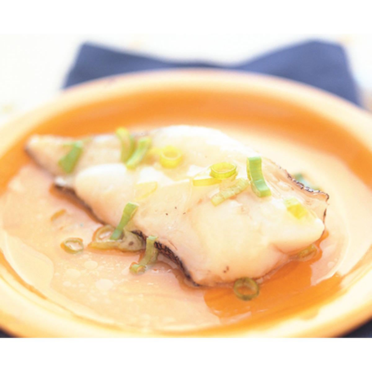 食譜:清蒸鱈魚(2)