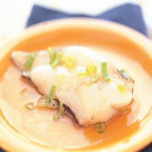 清蒸鱈魚(2)