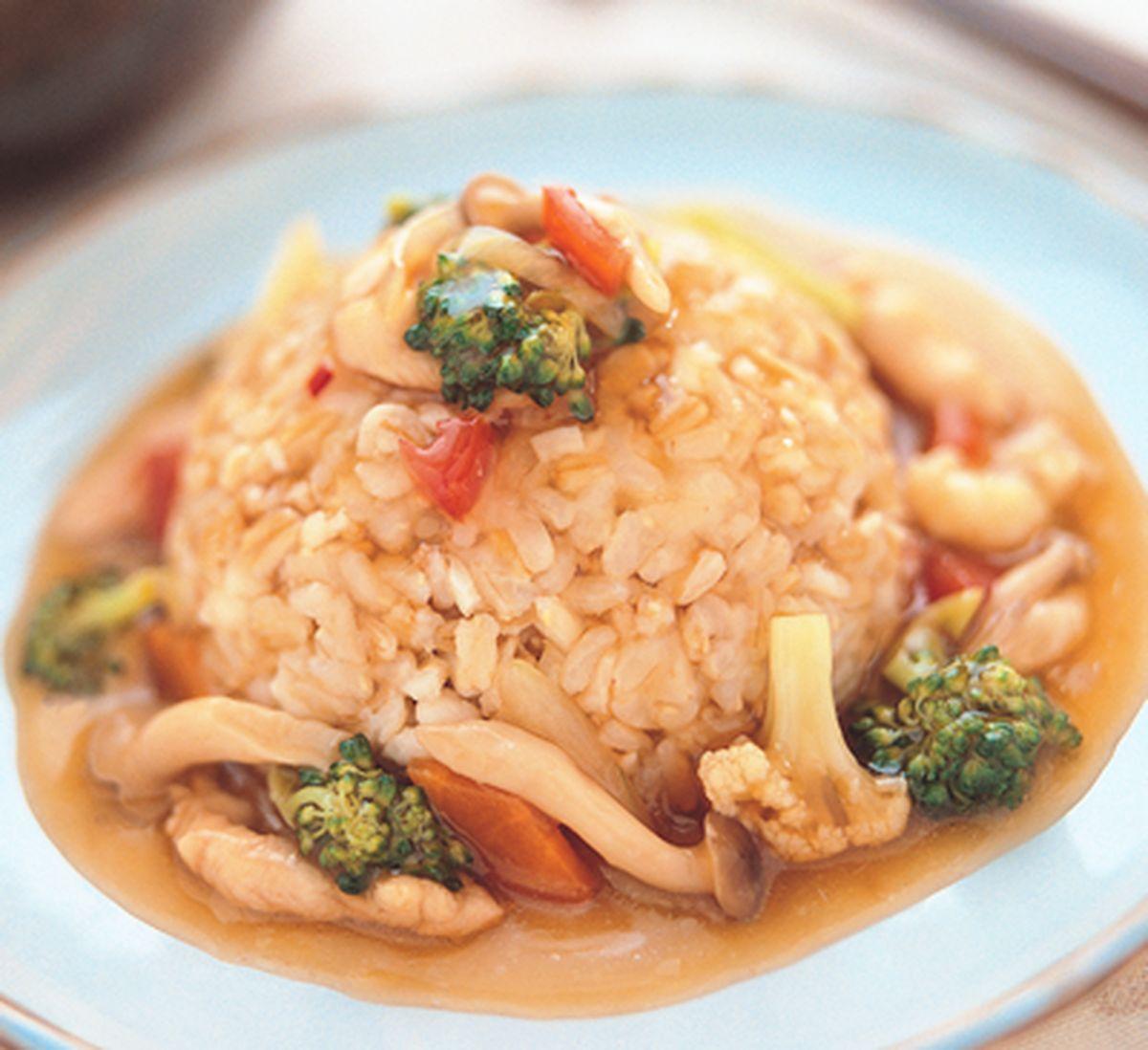 食譜:糙米燴飯
