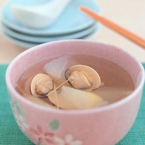 冬瓜蛤蜊清湯