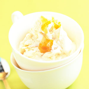金桔冰淇淋
