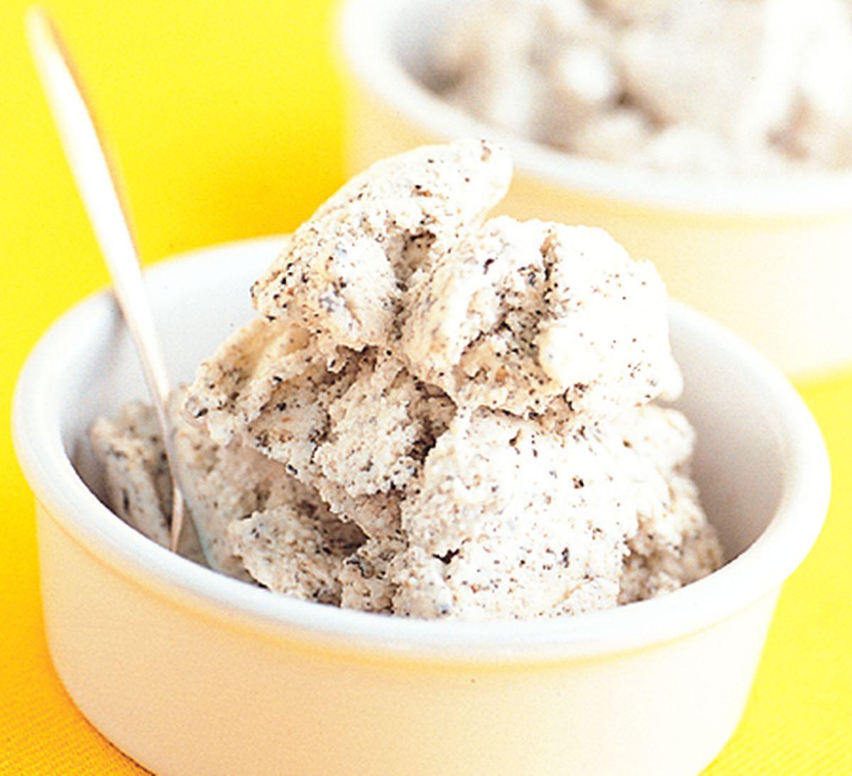 食譜:黑芝麻冰淇淋