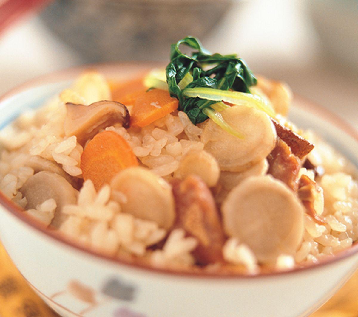 食譜:牛蒡野菜飯