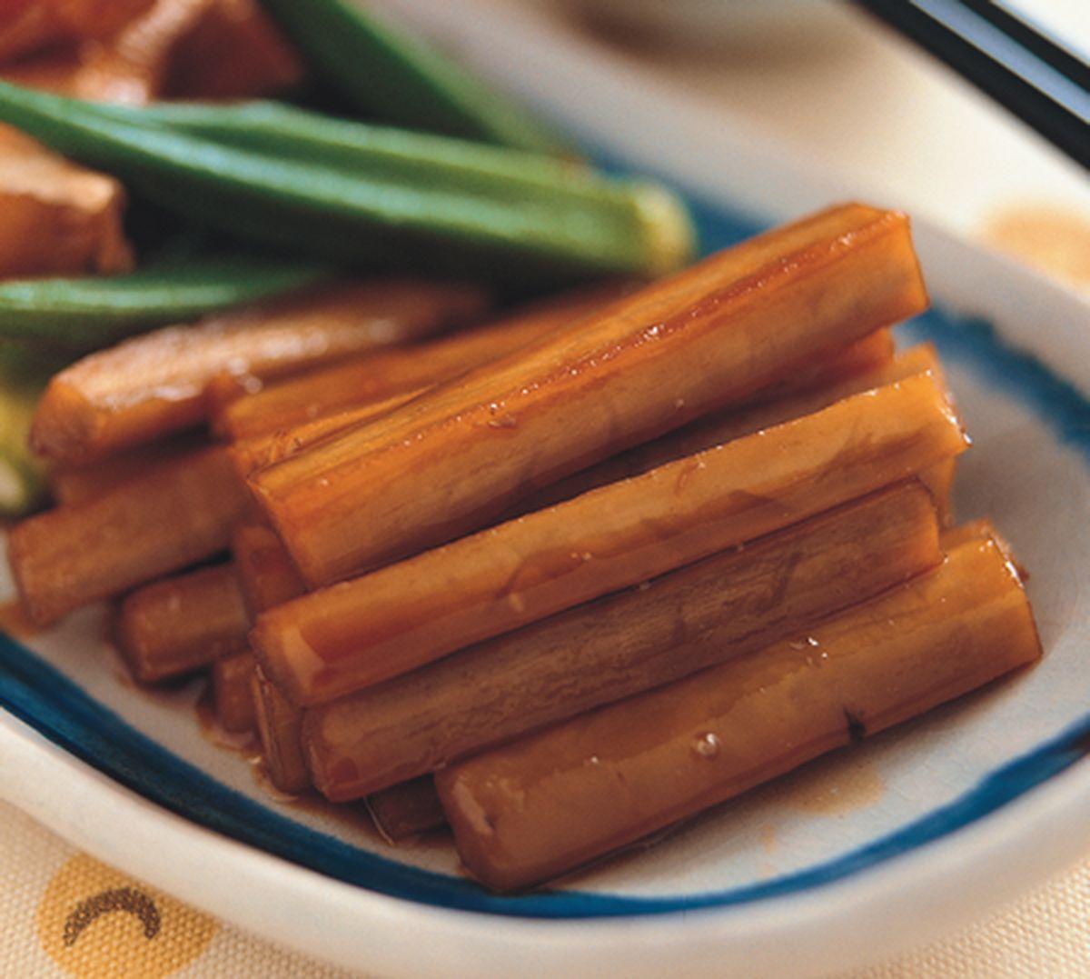 食譜:牛蒡紅燒魚