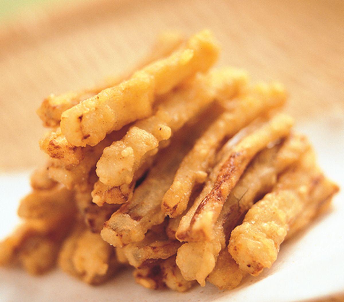 食譜:香酥芝麻牛蒡