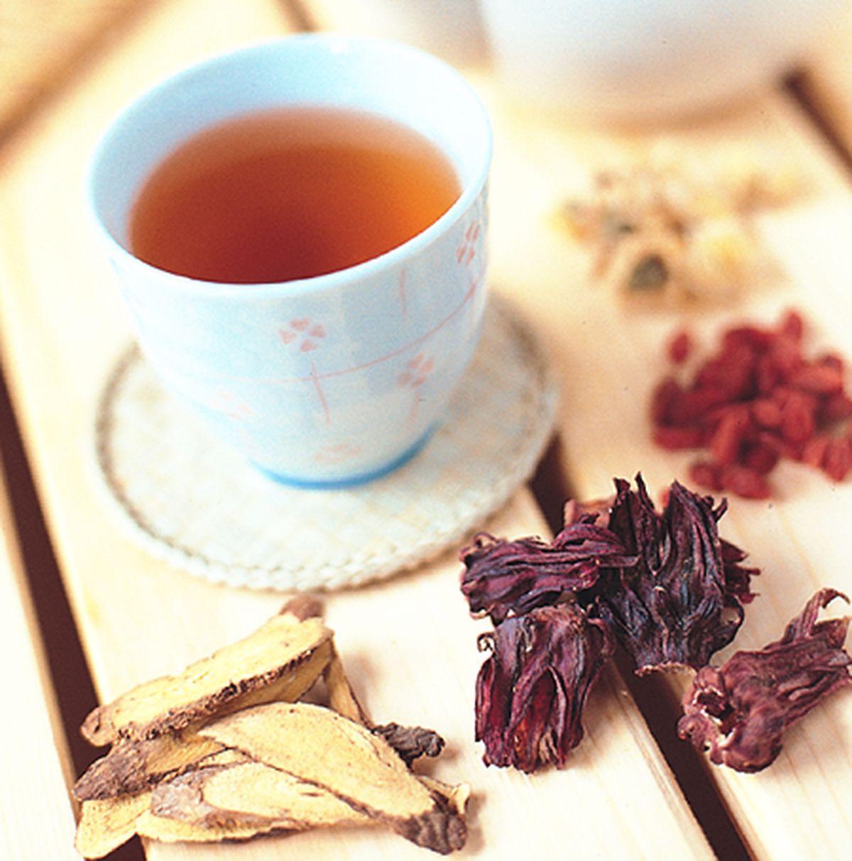 食譜:養顏消暑茶