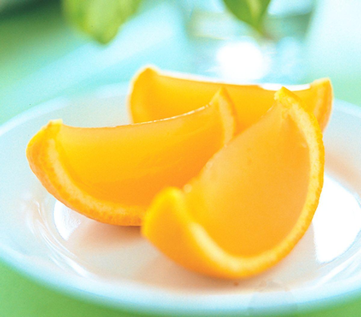 食譜:橙皮果凍