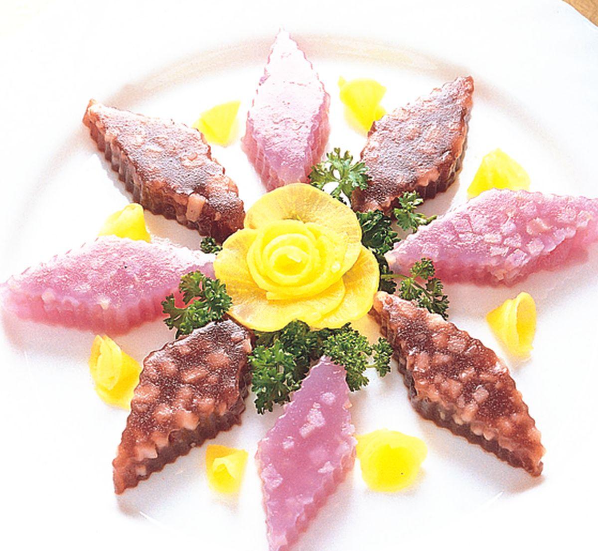 食譜:山藥紫米凍
