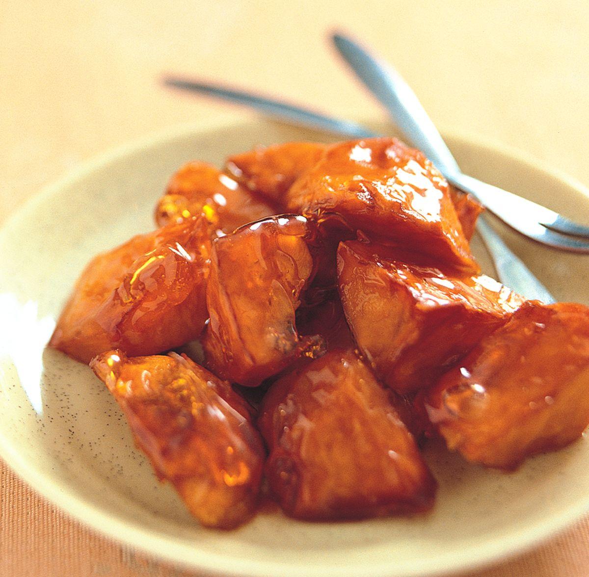 食譜:焦糖蜜薯