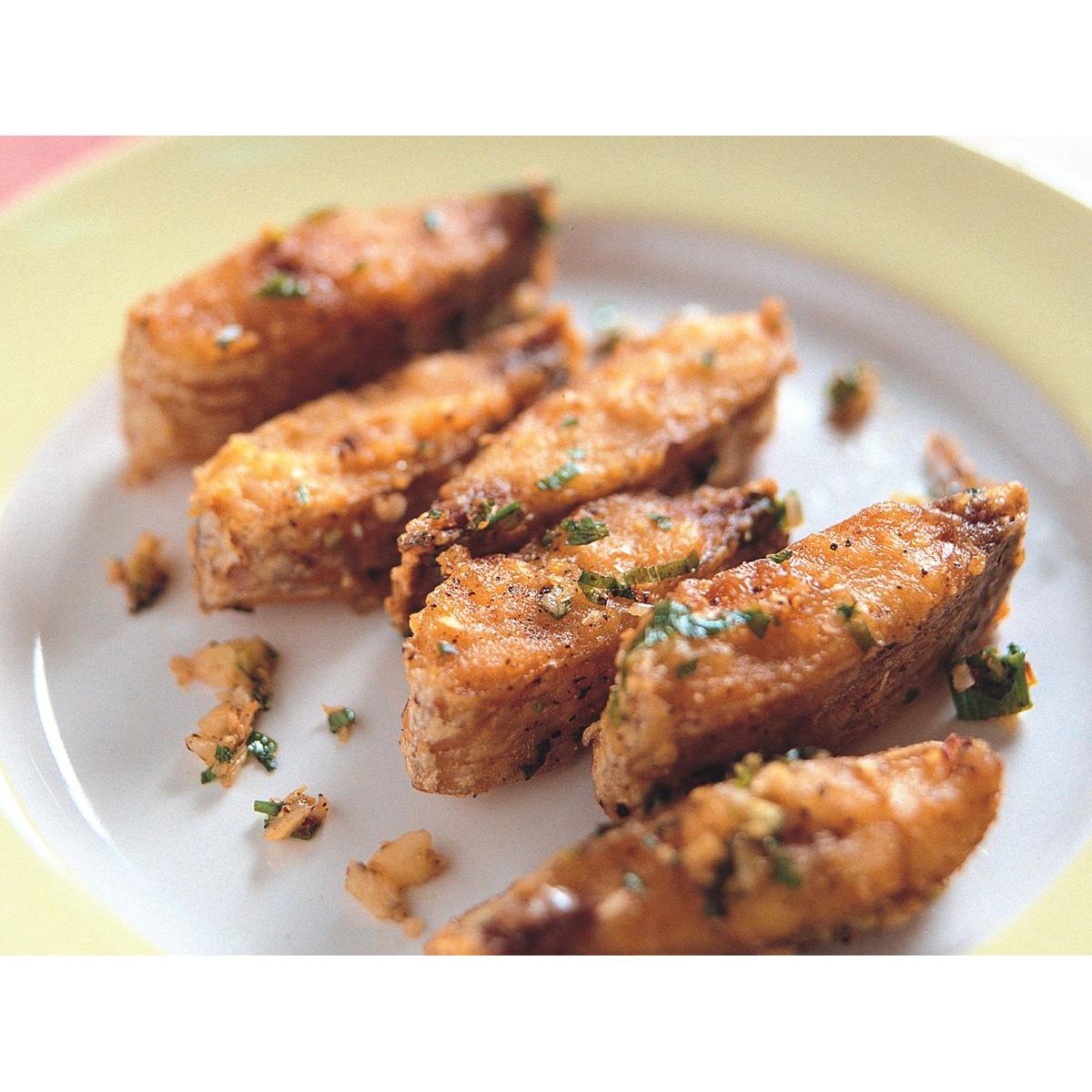 食譜:椒鹽帶魚酥