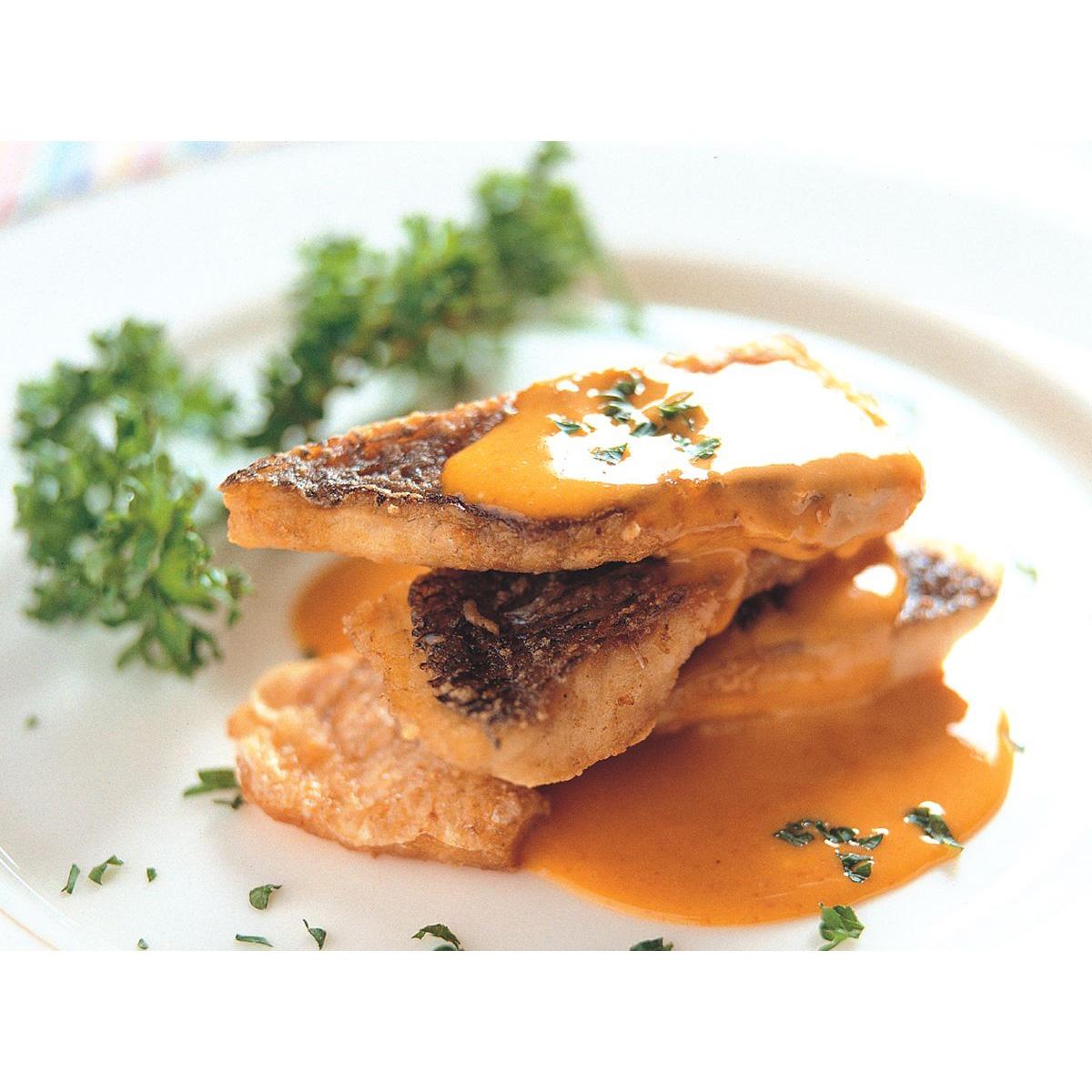 食譜:烤赤翅仔佐海膽蛋黃沙拉醬