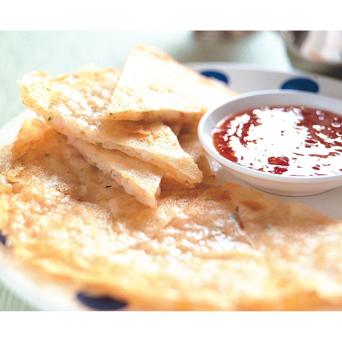食譜:泰式月亮蝦餅