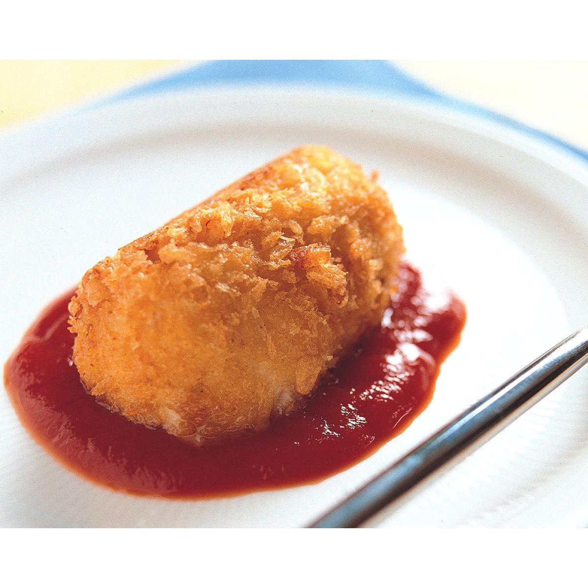 食譜:奶油蟹肉可樂餅
